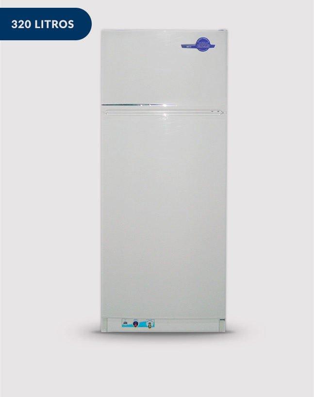 Heladera a Gas 12/2 con freezer Dual – Opción: Trial